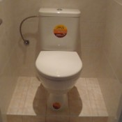 zvýšení WC na schůdku (Modřany, Jordana Jovkova , byt 2+1